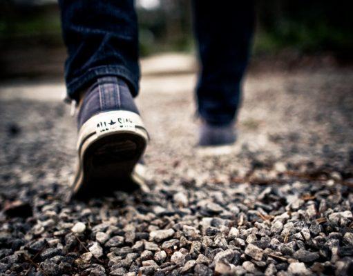 marche a pieds