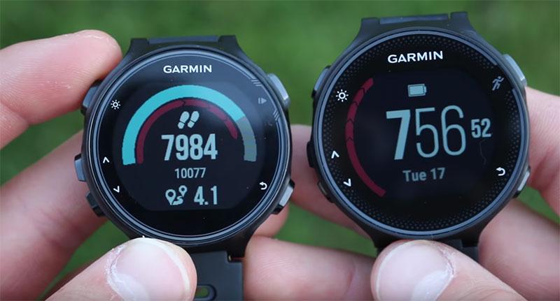 comparatif montre garmin forerunner 745xt