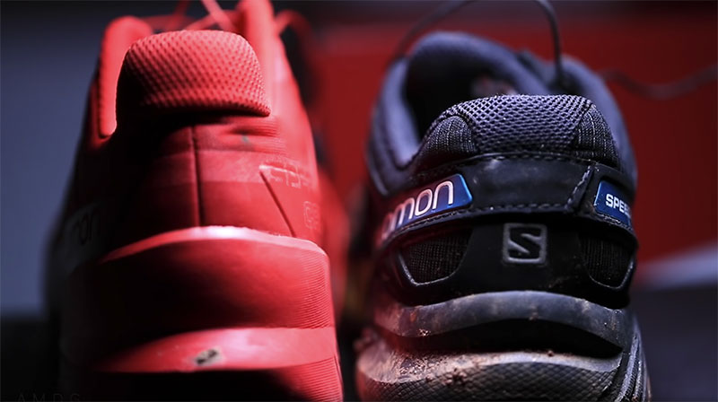 differences salomon speedcross 4 et 5