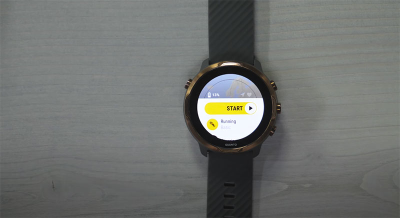 application ruunning suunto 7
