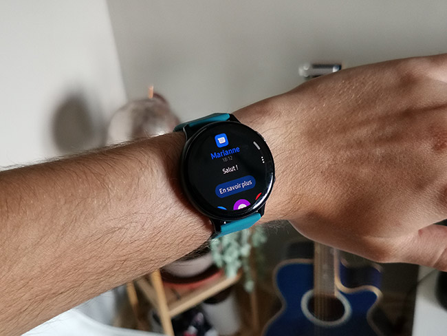 Galaxy Watch Active 2 texto
